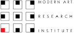 Modern Art Research Institute Sponsorship Logo